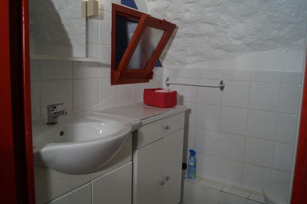 Salle de bain du gîte les Voûtes - Domaine de l'Amourié