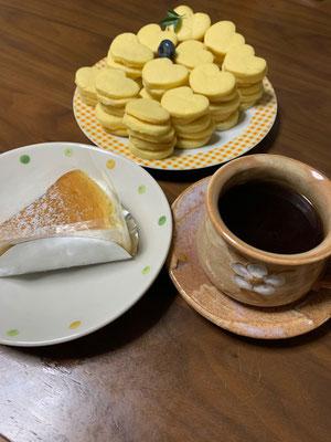 萩椿のチーズケーキとジャンジャンコーヒー♡♡