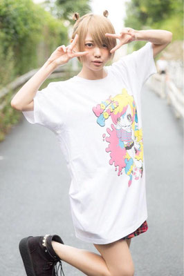 プティパ 篠崎こころ生誕Tシャツ