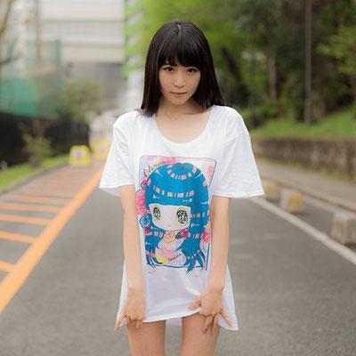 泣きぼくろちゃん×七菜乃 コラボTシャツデザイン