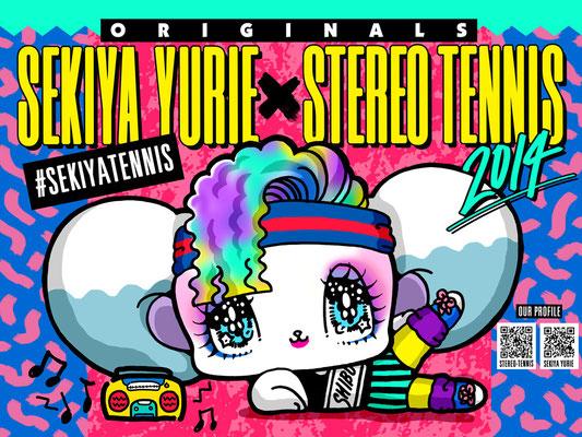 シブカル祭2014 ステレオテニス×せきやゆりえ イラストレーション