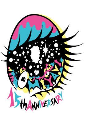 MIYAVI 15th Anniversary Tシャツデザイン