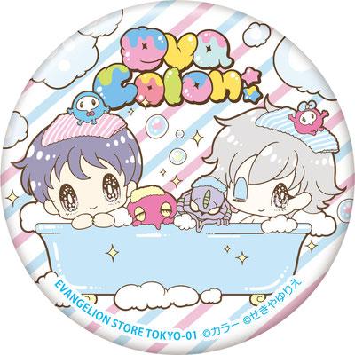 EVANGELION×せきやゆりえ「eva colon:」「bubble」シリーズ 缶バッジ