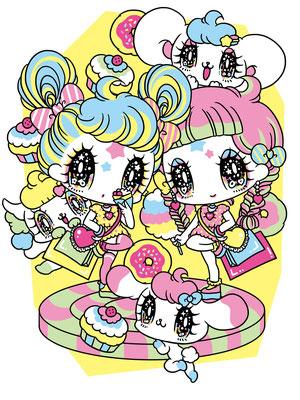 【ぺえ紗蘭mimmamでやってみた⭐︎双子コーデでおでかけ東京〜おおしま兄妹も双子ダンス♪〜】