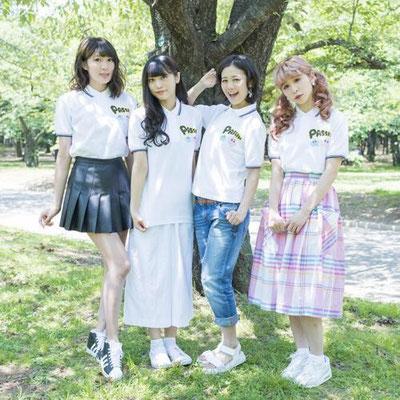 PASSPO☆×せきやゆりえ ポロシャツデザイン