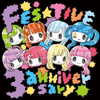FES☆TIVE 3周年Tシャツイラスト