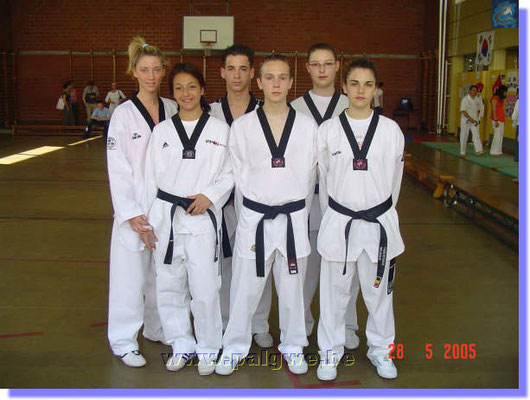 club taekwondo mons