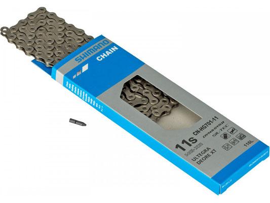+++CADENA CN-HG701-11  PARA 11P 138links RUTA/MTB/E-BIKE $1,350 MXN NP414194