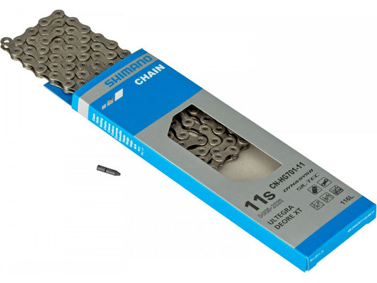 +++Cadena Shimano CN-HG701-11  11P 138links RUTA/MTB/E-BIKE $1,350 MXN NP414194