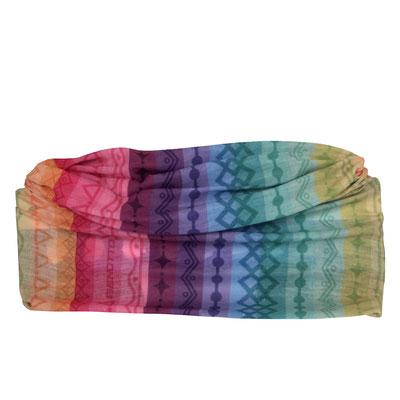 --Paliacate Tubular BENOTTO RAINBOW Multifuncional Multicolor Arcoíris Talla:Universal $265 MXN  PLTBTT0003