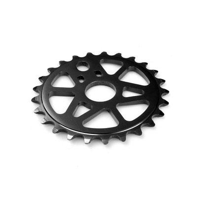 --#Disco para BMX 25D negro acero $172 MXN