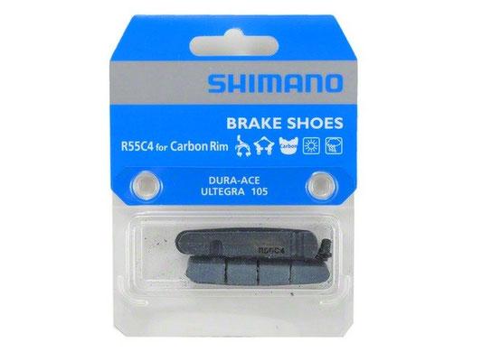 --Zapata de freno shimano R55C4 for Carbon Rim  Dura-Ace, Ultegra, Shimano 105 $425 MXN NP 409306