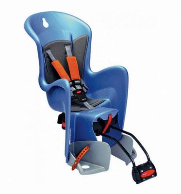 **Porta Bebe Trasero Bilby Standard Azul/Plata/Naranja POLISPORT $2,060 MXN PBBPLS0866
