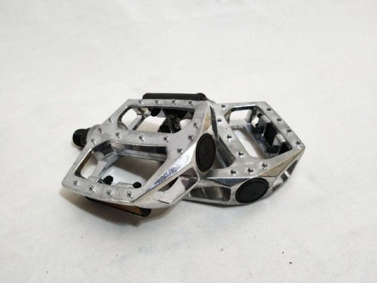 +++pedal 1/2 aluminio BMX Cromado c/reflejante $210 MXN