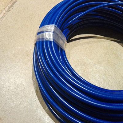 --Forro Azul con teflon para chicote  $22 MXN (El Metro lineal)