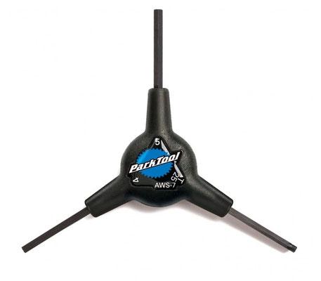 **Llave Allen Y 4,5,6mm AWS-8 Puntas esfericas PARK $295MXN  LLVPKT0057