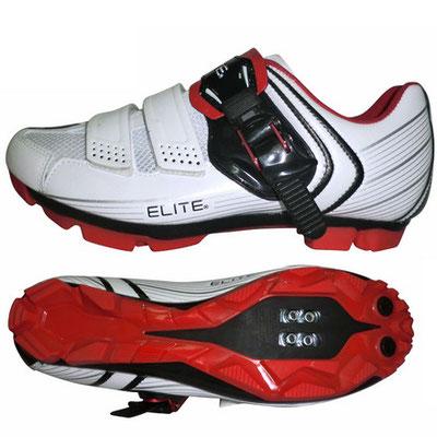 **Zapato MTB TB15-B1212 Elite Med:41.0/27.0 Blanco/Rojo/Negro $2,140 ZPOBTE0174