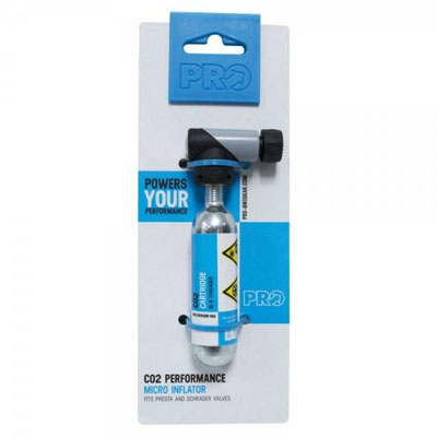 --Micro inflador directo CO2 PRO C/CARTUCHO 16GRS $365 MXN NP401844