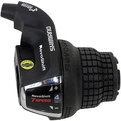 --#Perilla de Mando rev-o-shifter Shimano Tourney SL-RS35 7 VEL $180 MXN  NP1150019