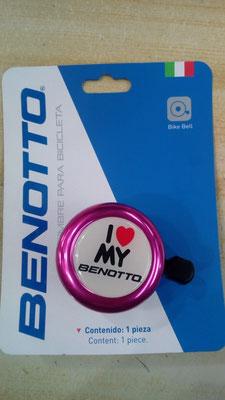 """+++Timbre BENOTTO 43C-09 """"I LOVE MY BENOTTO"""" ROSA $50 MXN TIMBTT0024/"""