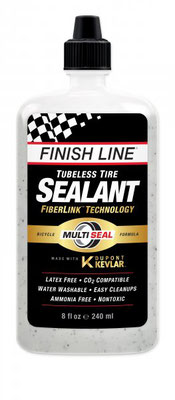 --Sellador FINISH LINE para llanta Tubeless Dupont Kevlar 8oz/240ml  $360 MXN