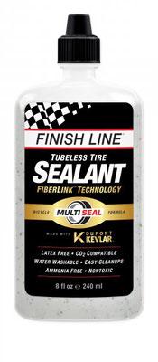 --Sellador FINISH LINE para llanta Tubeless Dupont Kevlar 8oz/240ml  $375 MXN