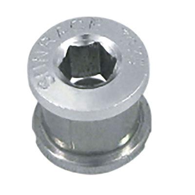 ***Tornillo para Disco de Multiplicacion SUNRACE Aluminio Plata Paqc/5 $305 MXN TORSUN0007