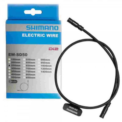 --CABLE ELECTRICO EW-SD50 D/2 250MM NEGRO $553 MXN NP41437'0