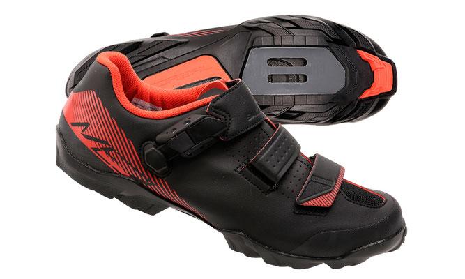 --Zapatilla MTB SHIMANO SH-ME3 Rojo TALLA 42 $2,380 MXN NP415801