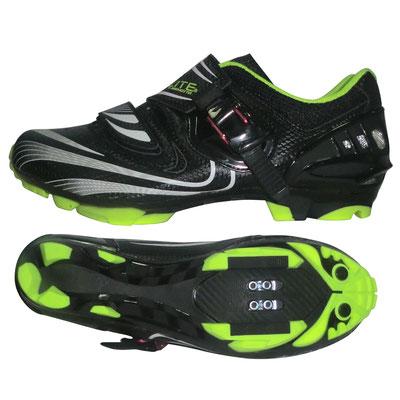 ****Zapato ELITE Montaña TB35-B1260 Med:43.0/28.0 Negro/Blanco/Verde $2,360 MXN ZPOBTE0266