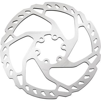 +++Disco rotor  DEORE, SLX para freno tipo 6 tornillos SHIMANO SM-RT66 160MM $525 MXN NP410282