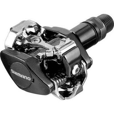 +++PEDAL SHIMANO  CONTACTO MTB PD-M505 NEGRO $850 MXN NP401003