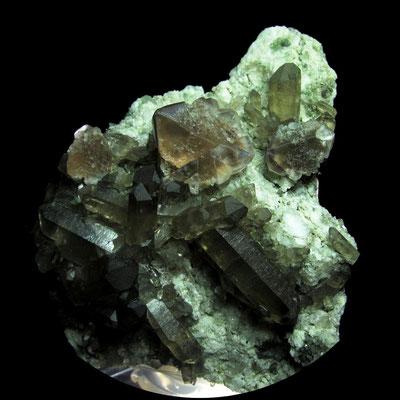 Fluorit, Rauchquarz, Zinggenstock, Schweiz