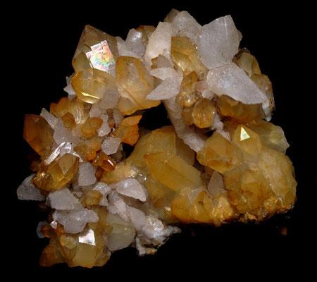 Calcit- und Bergkristalle aus Österreich