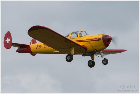 Ercoupe 415-D von der Segel- und Motorfluggruppe Veterano
