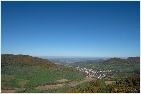 Schöne Sicht ins Neidlinger Tal