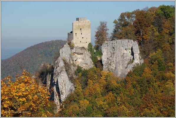 ... zur Ruine Reußenstein