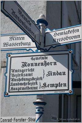 Richtig in Nonnenhorn.