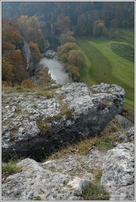 Aussichtspunkt gespaltener Fels