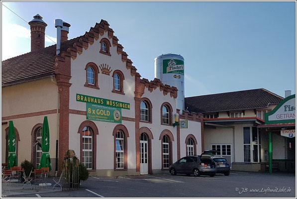 Unsere Unterkunft befindet sich direkt neben der Brauerei.