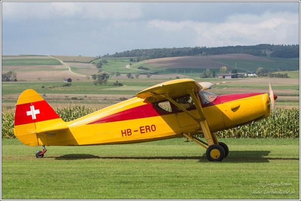 Fairchild Argus III vom Fairchild Club in Zeihen