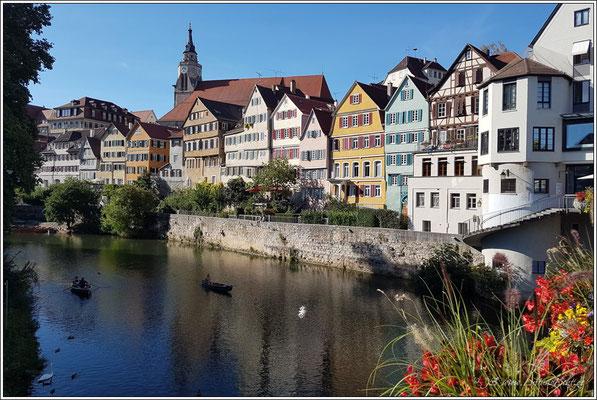 einfach schön, der Blick von der Neckarbrücke