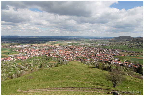 Blick auf Weilheim