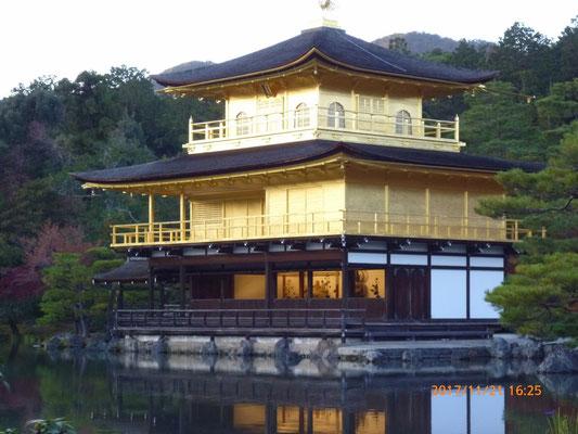 『金閣寺』 やはり綺麗でした。