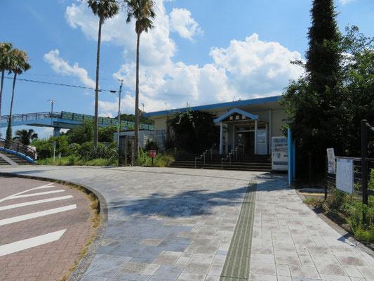 小さな小さな無人駅、「青島駅」
