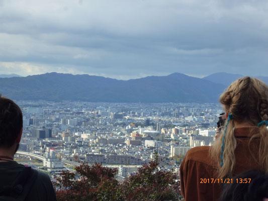 『伏見稲荷神社』 伏見山全体が参道になっています。神社参りと言うより登山です。