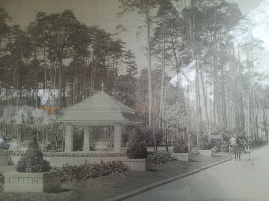 Historisches Photo am Park Pavillon Edelhofdamm