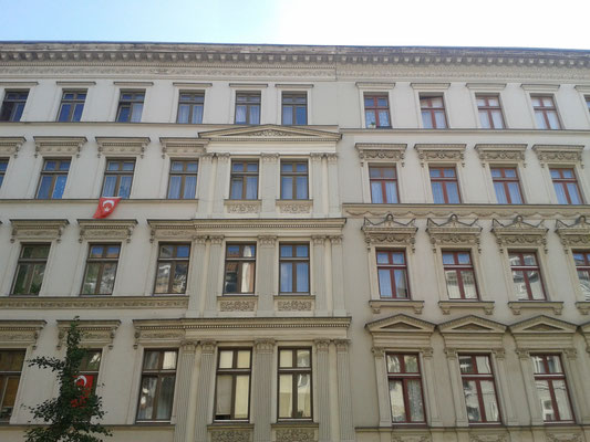 Häuserfront Liebenwalder Straße - Berlin Wedding