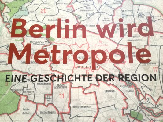 "Cover des Buches ""Berlin wird Metropole"""