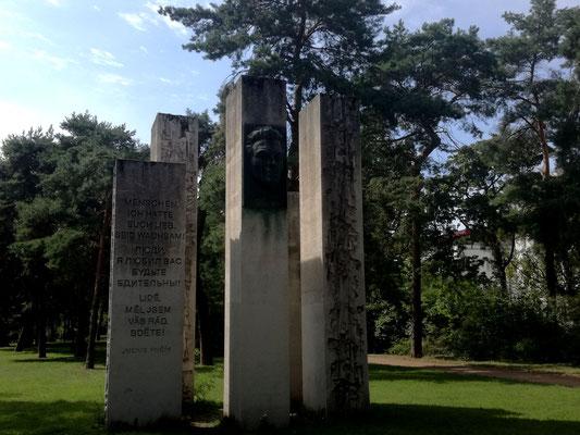 Denkmal für Julius Fučik